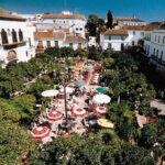 la Plaza de los Naranjos en Marbella