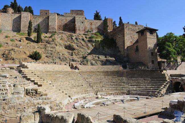 El Teatro romano de Málaga