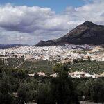 la localidad de Rute en Córdoba