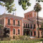 La histórica Casa Colón de Huelva