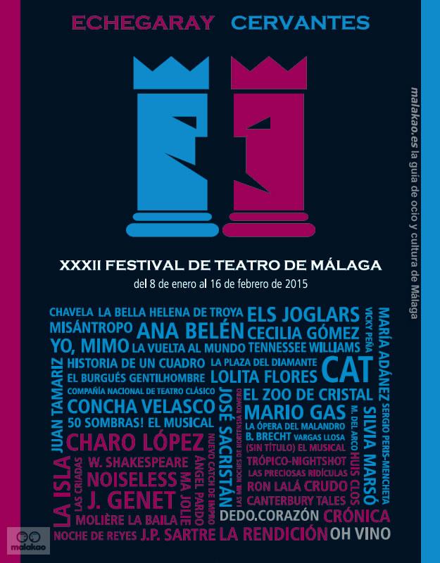 XXXII Festival de Teatro de Málaga
